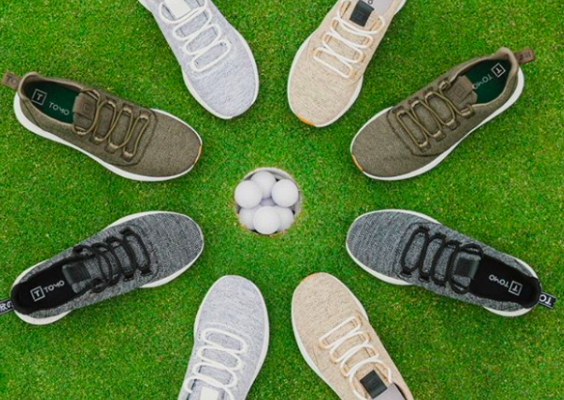 Client News: We are so excited for the launch of TOMO Vol. 1 Spikeless Golf Shoes