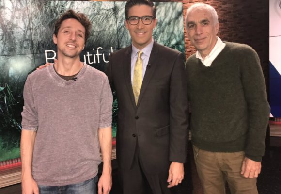 "David and Nic Sheff, Inspiration Behind Golden Globe Nominated Film ""Beautiful Boy"", Featured on KUSI and Fox 5"